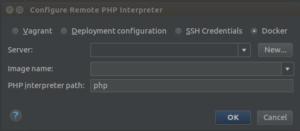 CLI Interpreter Settings window