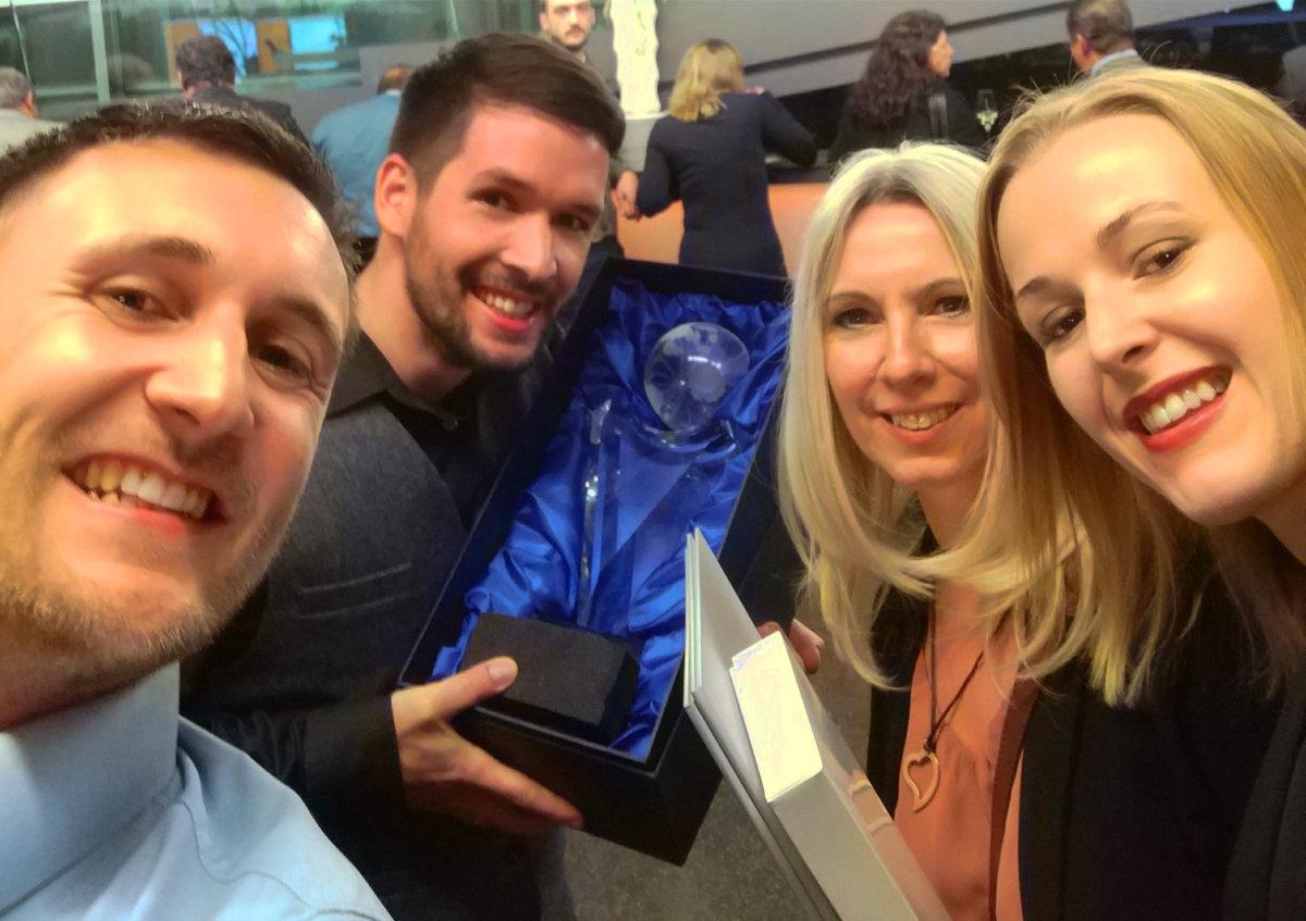 Bester Onlineshop in der Kategorie Start-Up 2017