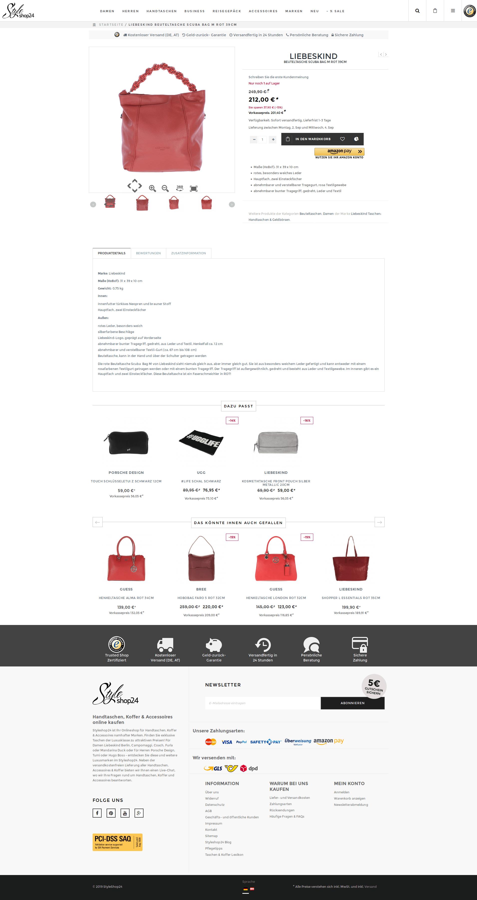 styleshop24 screenshot produkt-detail